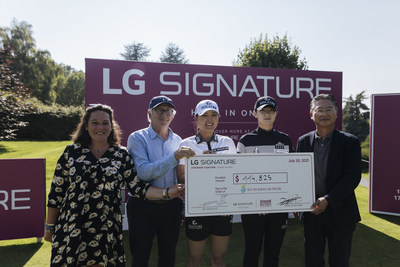 LG SIGNATURE CONCLUDES CHARITY AUCTION BENEFITING FAMILIES AFFECTED BY AUTISM