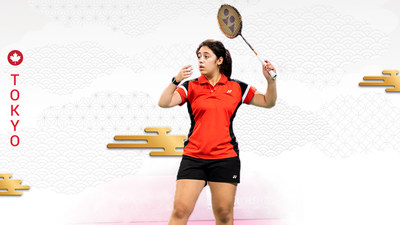 Olivia Meier will make history this summer as the first Canadian athlete to compete in Para badminton at the Paralympic Games. PHOTO: Canadian Paralympic Committee (CNW Group/Canadian Paralympic Committee (Sponsorships))
