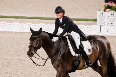 Jessica von Bredow-Werndl riding TSF Dalera (GER). photo by FEI/Shannon Brinkman (PRNewsfoto/FEI)