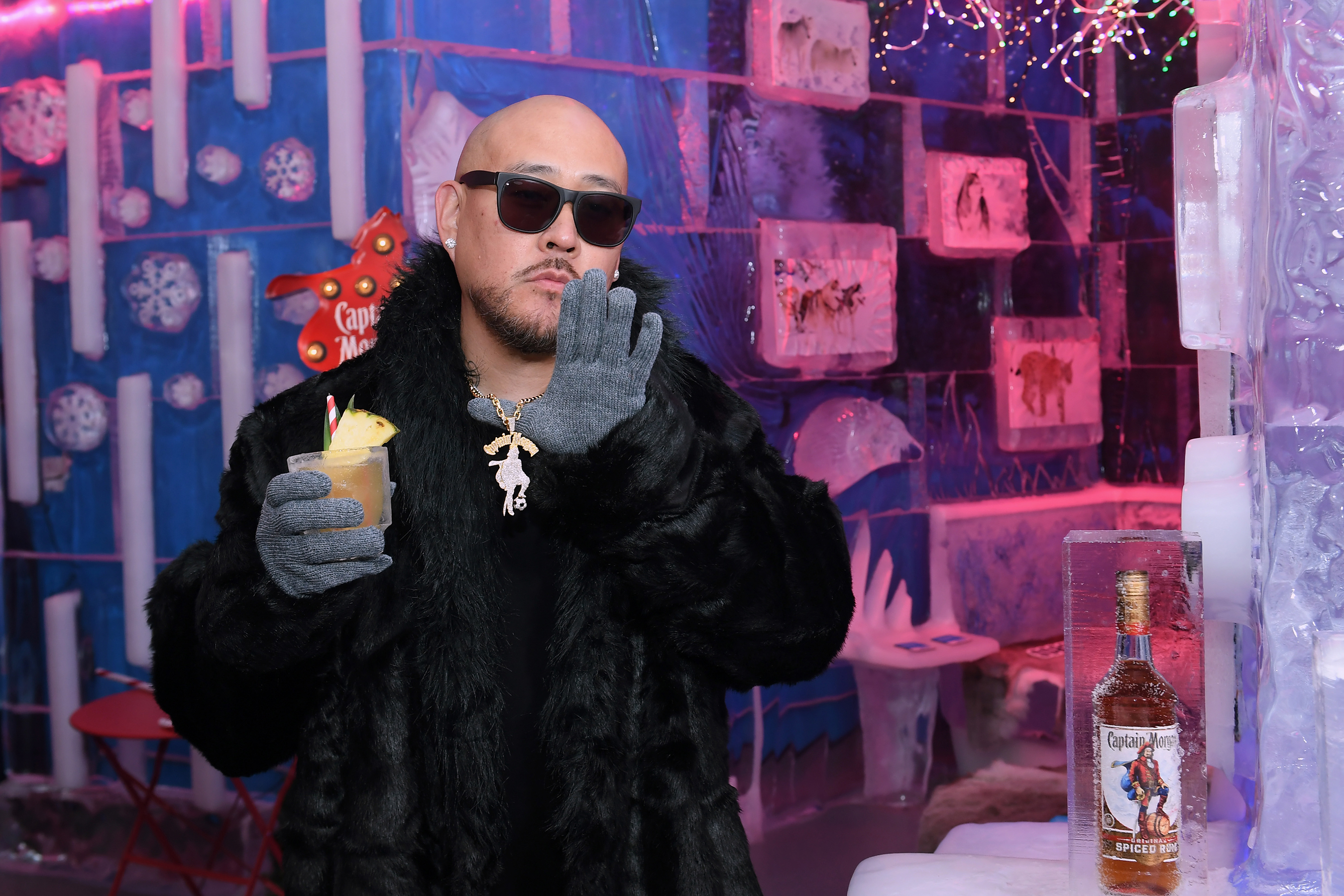 Captain Morgan celebrates partnership launch with iconic jeweler and entrepreneur, Ben Baller in Las Vegas, Nevada on Wednesday, August 11, 2021.