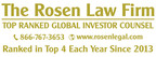 CXO INVESTOR ALERT: ROSEN, LEADING AND LONGSTANDING INVESTOR COUNSEL, Encourages Concho Resources Inc. Investors with Losses in Excess of $100K to Secure Counsel Before Important Deadline – CXO