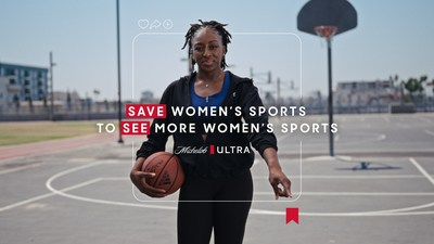 WNBA star Nneka Ogwumike and Michelob ULTRA team up to increase visibility for female athletes by saving posts on women's sports across social media platforms