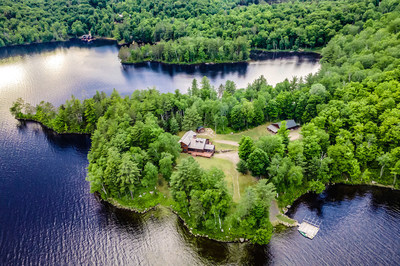 The Paradise Peninsula camp on upstate New York's Tupper Lake was sold at a live, luxury auction on July 16, reports Platinum Luxury Auctions, the auction house that managed the sale. The property sits on 13 private acres and offers 4,000 ft of frontage. Platinum worked with listing brokerage of record Adirondack Premier Properties for the sale. Discover more at LakefrontLuxuryAuction.com