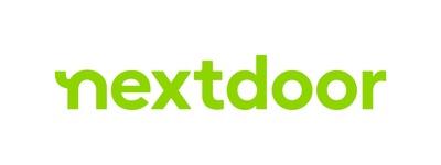 Nextdoor Logo (PRNewsfoto/Nextdoor, Inc.)