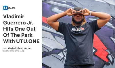 UTU.ONE Hits It Out of the Park With Vladimir Guerrero Jr. (CNW Group/UTU.ONE)