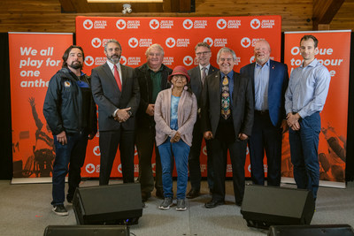 Bid launch for the 2027 Canada Winter Games in Whitehorse, Yukon. Photo: Sarah Lewis (CNW Group/Canada Games Council)