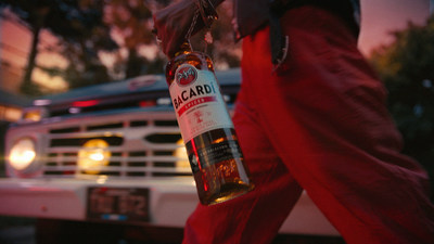 """BACARDÍ Spiced Rum Debuts New """"Domino"""" Ad Spot"""