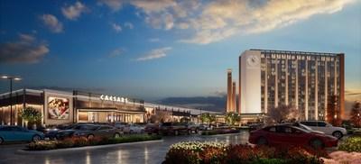 Rendering of Caesars Virginia – a $500 Million Resort to be Built in Danville
