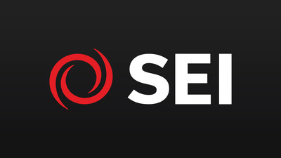 The new brand preserves the company's signature red swirl and guiding principles grounded in employee ownership and a culture of collaboration. (PRNewsfoto/SEI)