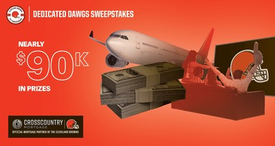 """Fans enjoying the Hype Cam Experience can also automatically register for the nearly $90,000 in prizes available through the CrossCountry Mortgage """"Dedicated Dawgs"""" Sweepstakes."""