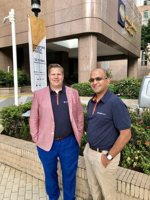 Co-founders of BOXX Insurance, Vishal Kundi and Mike Senechal. (CNW Group/BOXX Insurance)