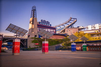 Enel North America and Kraft Sports + Entertainment welcome fans back to a more sustainable sporting experience at Gillette Stadium.