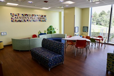 Austin's Playroom from the Mario Lemieux Foundation
