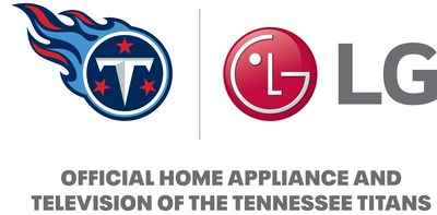 LG: Official Home Appliance and Television of the Tennessee Titans