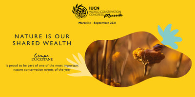 L'OCCITANE Group announces its 'nature-positive' biodiversity strategy, the high point of its visit to the IUCN Congress in Marseille