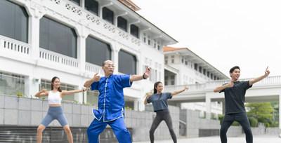 Qi Gong at Oasia Resort Sentosa