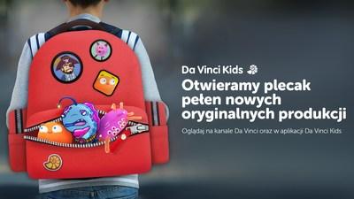 Otwieramy plecak pełen nowych orginalnych produkcji Da Vinci! (PRNewsfoto/Da Vinci)