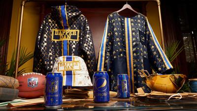 The Pepsi x Dapper Dan Football Watching Capsule Collection (PRNewsfoto/PepsiCo)