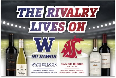 Root, drink and support local with Waterbrook and Canoe Ridge wines.