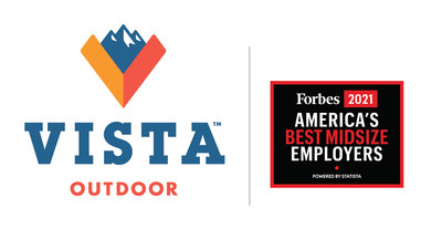 Vista Outdoor selected as Forbes Best Midsize Employer - 2021