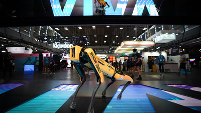 Viva Tech 2021 - Spot robot