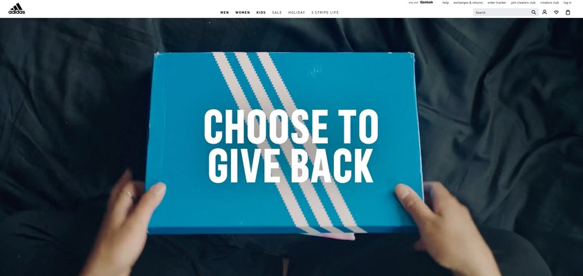 adidas has introduced its Choose to Give Back program aimed at helping to extend the lifecycle of sports performance & lifestyle apparel and footwear. Leveraging thredUP's Resale-as-a-ServiceⓇ (RaaSⓇ ) platform and expertise, the program will invite consumers to send used product from any brand back to adidas via the adidas Creator's Club app to be reused or resold.