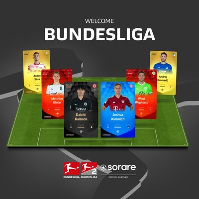 Bundesliga and Bundesliga 2 partner with Sorare to be part of global NFT Fantasy Game