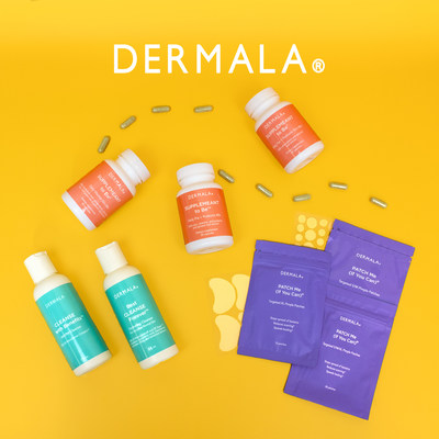DERMALA, the only personalized, clinically proven treatment for acne powered by the human microbiome extends its product line-up with the addition of six new products.