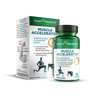 Purity Products Releases Muscle Accelerator to Enhance Muscle Strength and Size
