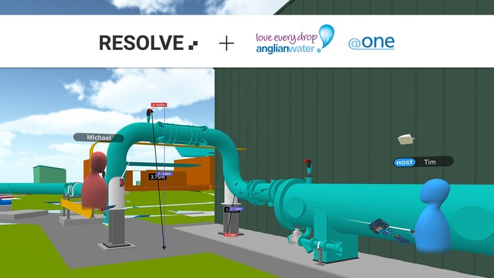 Resolve Partners with Anglian Water @one Alliance to Improve Operations Access to 3D Assets with Virtual Reality