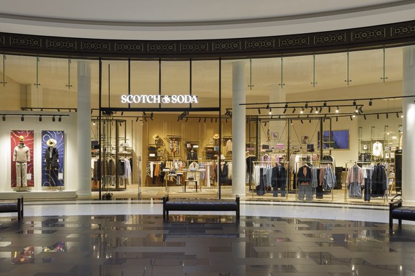 New Scotch&Soda store at the Mall of Berlin