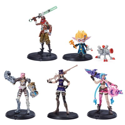 Spin Master's League of Legends 4 Inch Core Figures (CNW Group/Spin Master)