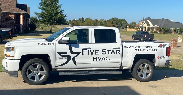5 Star HVAC Contractors' success includes a 26% growth rate increase and an expansion into new offices in East Dallas